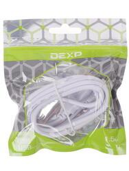 Кабель DEXP UMWSI150 USB - micro USB белый