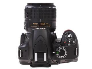 Зеркальная камера Nikon D3200 Kit 18-55mm VRII + 55-200mm VRII черный