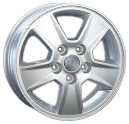 Автомобильный диск литой Replay H67 5,5x15 5/114,3 ET 45 DIA 64,1 Sil