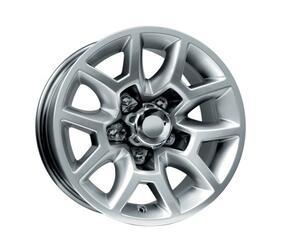 Автомобильный диск литой K&K Калахари 7,5x16 5/139,7 ET 2 DIA 110,1 Сильвер
