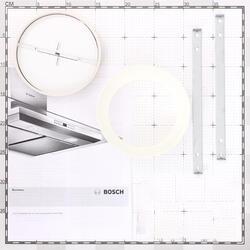 Вытяжка каминная Bosch DWW09W420 белый