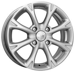 Автомобильный диск Литой K&K Блюз 6x15 4/100 ET 38 DIA 67,1 Блэк платинум