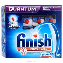 Таблетки для посудомоечных машин Finish Quantrum