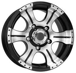 Автомобильный диск Литой K&K Байконур 7x15 6/139,7 ET -5 DIA 107,6 Алмаз МЭТ
