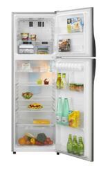 Холодильник с морозильником Sharp SJ351VSL серебристый