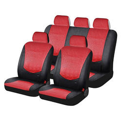 Чехол на сиденье H&R EXOTIC красный