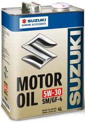 Моторное масло Original Japan Suzuki Motor Oil 5W-30 99M00-21R02-004, содержит молибден
