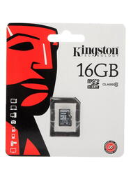 Карта памяти Kingston SDC10/16GBSP microSDHC 16 Гб