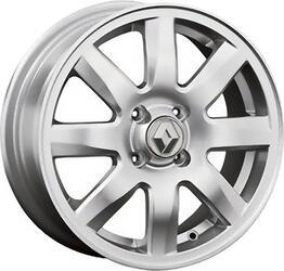 Автомобильный диск литой Replay RN34 6x15 4/100 ET 50 DIA 60,1 Sil