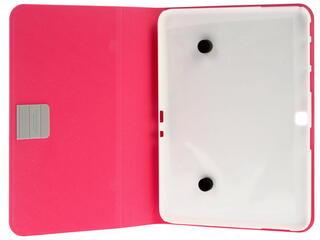 Чехол-книжка для планшета Samsung Galaxy Tab 4 розовый