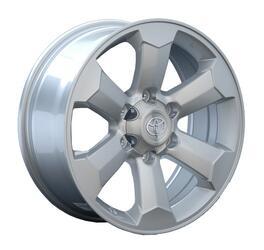 Автомобильный диск Литой Replay TY69 7,5x17 6/139,7 ET 25 DIA 106,1 Sil