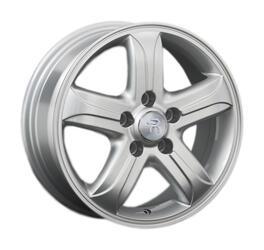 Автомобильный диск литой Replay KI20 6,5x16 5/114,3 ET 51 DIA 67,1 Sil