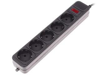 Сетевой фильтр DEXP Optimus 518 B черный