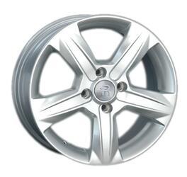 Автомобильный диск литой Replay KI115 6x15 4/100 ET 48 DIA 54,1 Sil