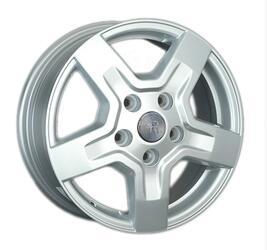 Автомобильный диск литой Replay FD72 6x15 5/160 ET 56 DIA 65,1 Sil