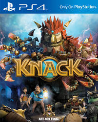 Игра для PS4 Knack