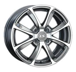 Автомобильный диск литой LS 313 6x15 4/100 ET 43 DIA 60,1 GMF