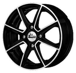 Автомобильный диск литой iFree Майами 5,5x14 4/98 ET 24 DIA 58,5 Блэк Джек