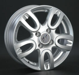 Автомобильный диск литой Replay RN63 6x15 4/100 ET 43 DIA 60,1 Sil