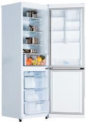 Холодильник с морозильником LG GC-B409SVQA белый