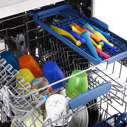 Посудомоечная машина Indesit DFP 58T94 CA NX EU серебристый