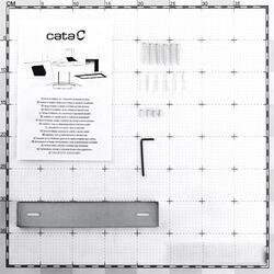 Вытяжка каминная Cata C 600 серебристый
