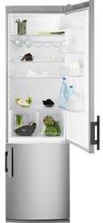 Холодильник с морозильником Electrolux EN4000AOX серебристый