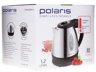 Электрочайник Polaris PWK 1284 CA серебристый