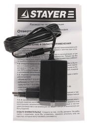 Аккумуляторная отвертка Stayer SCSD-4.8-F