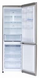 Холодильник с морозильником LG GC-B409SLQA серый