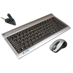 Клавиатура+Мышь A4-Tech Wireless Keyboard+Optical Mouse (RK-670D) USB