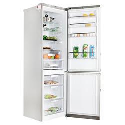 Холодильник с морозильником LG GA-B489YAKZ серебристый