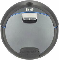 Пылесос-робот IROBOT Scooba 390 серебристый, черный