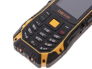Сотовый телефон DEXP Larus P2 черный