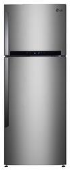 Холодильник с морозильником LG GN-M492GLHW серебристый
