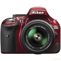 Зеркальная камера Nikon D5200 Kit 18-55mm VR II красный