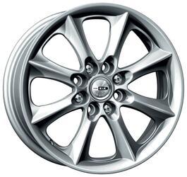 Автомобильный диск Литой K&K Борус 6x15 4/114,3 ET 44 DIA 56,6 Блэк платинум