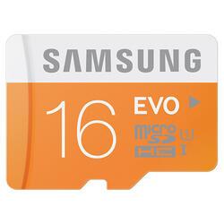 Карта памяти Samsung EVO MB-MP16DA/RU microSDHC 16 Гб