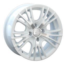 Автомобильный диск литой LS BY701 5,5x13 4/98 ET 35 DIA 58,6 White
