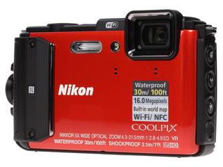 Компактная камера Nikon Coolpix AW130 оранжевый