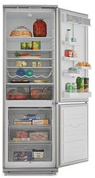 Холодильник с морозильником ATLANT ХМ 6024-080 серебристый