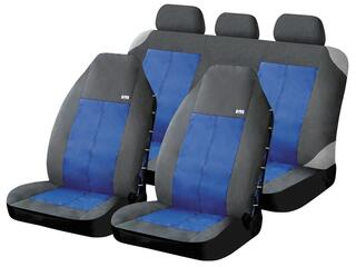 Чехол на сиденье H&R FUSION-VAN синий/черный