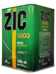 Моторное масло ZIC 5000 10W40 173128