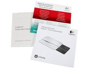 Подставка для ноутбука Logitech N600 серый