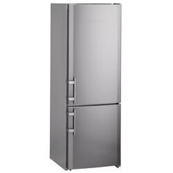 Холодильник с морозильником Liebherr CNsl 3033 серебристый
