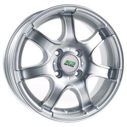 Автомобильный диск Литой Nitro Y453 6x14 4/98 ET 35 DIA 58,6 Sil