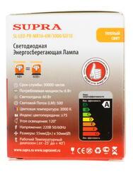 Лампа светодиодная Supra SL-LED-PR-MR16-6W/3000/GU10
