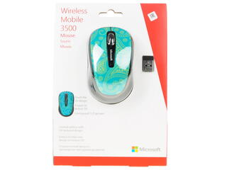 Мышь беспроводная Microsoft Wireless Mobile Mouse 3500 ARTIST STUDIO