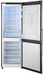 Холодильник с морозильником Samsung RL36EBIH серебристый