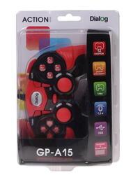 Геймпад Dialog GP-A15 Action красный